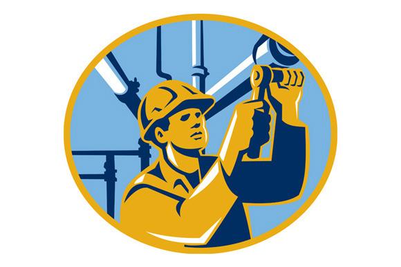 Pipefitter Maintenance Gas Worker Pl