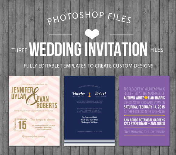 Wedding Invitation Starter Kit Vol 1