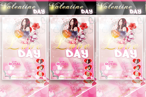 Love Valentine Flyer
