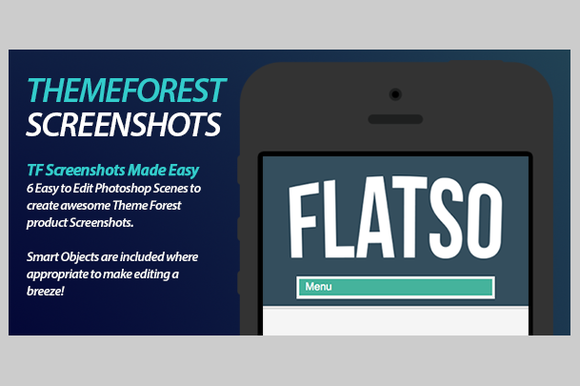 Themeforest Product Screenshots