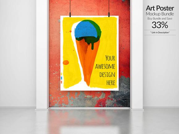Art Poster Mockup