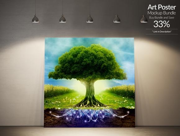 Art Poster Mockup 5