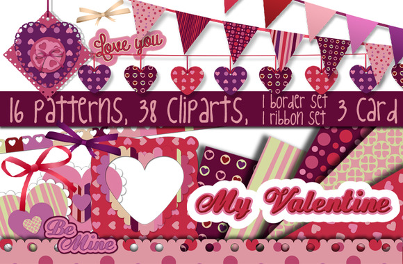 Big Valentine Day Set