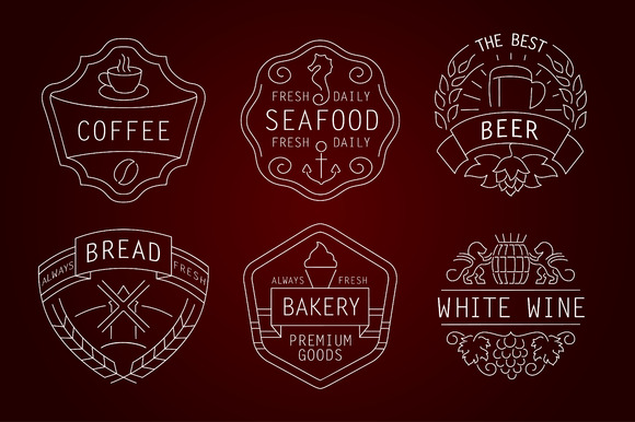 Food And Drink Signs