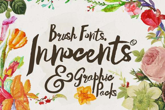Innocents Fonts Graphic Packs