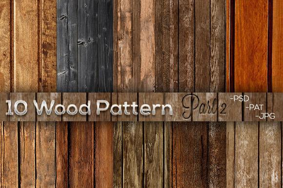 10 Wood Pattern Part 2