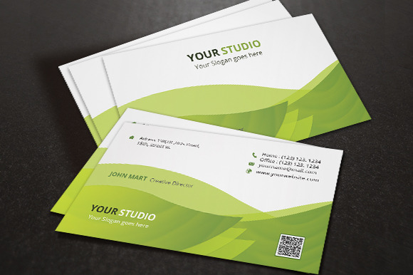 Corporate Business Card V.03