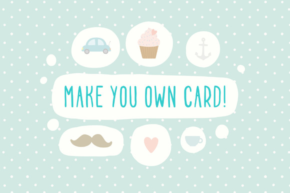 Make You Own Card Awesome Set