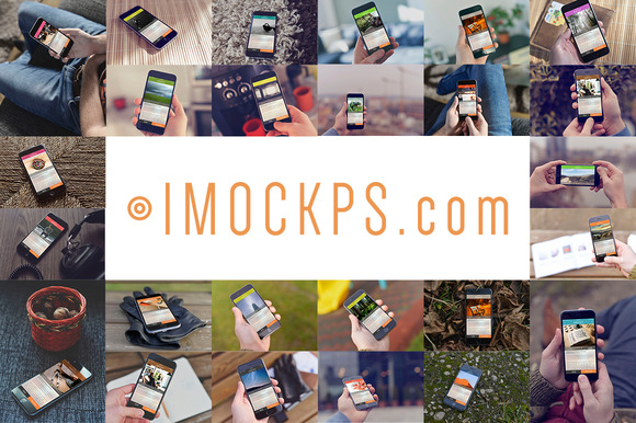 IMOCKPS 46 IPhone Mockups