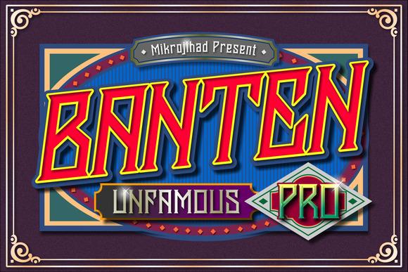 Banten Unfamous Pro Bonus-40% OFF