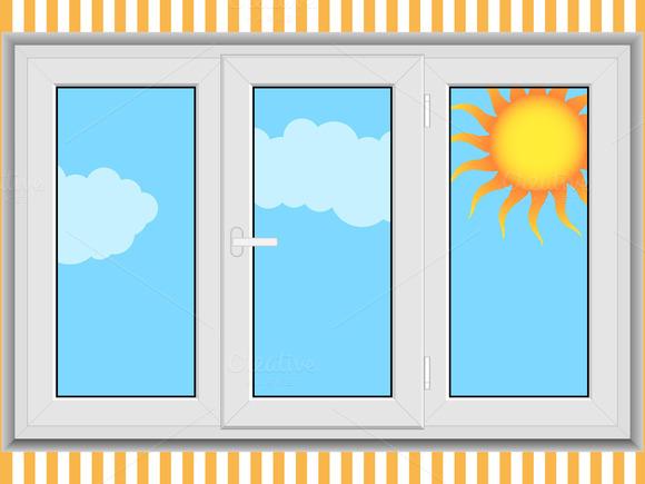 Window Vector Illustration