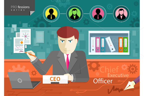 Chief Executive Officer Sitting