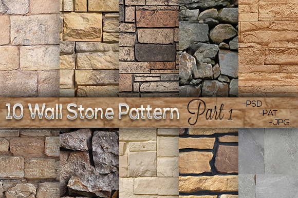 10 Wall Stone Pattern Part 1