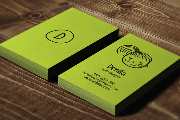 Avatar Individual Business Card