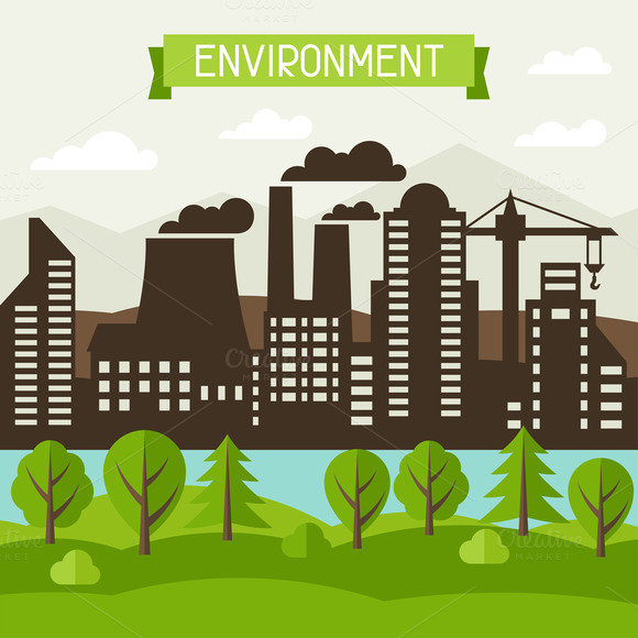 Environmental Concept Illustration
