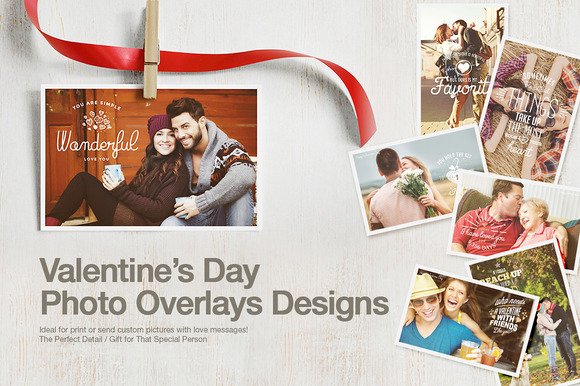 Valentine��s Day Photo Overlays