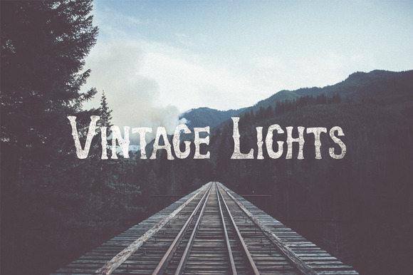 Vintage Lights Gradients