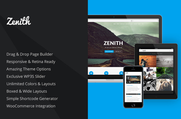 Zenith Advanced WordPress Theme