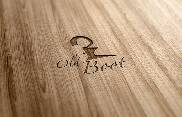 Old Boot Logo Design