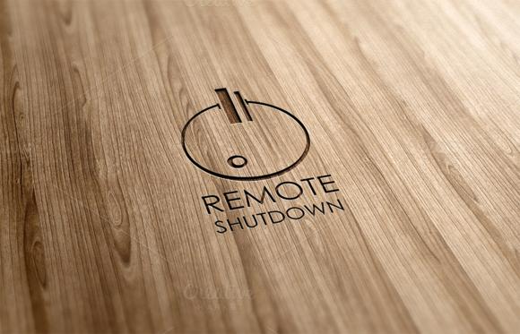Remote Shutdown Logo Design
