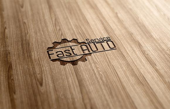 Fast Auto Service Logo Design