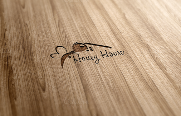 Honey House Logo Design