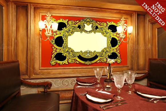 Vintage Gold Baroque Frame