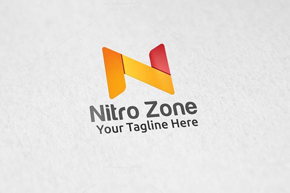 N Z Letter Logo Tempalte