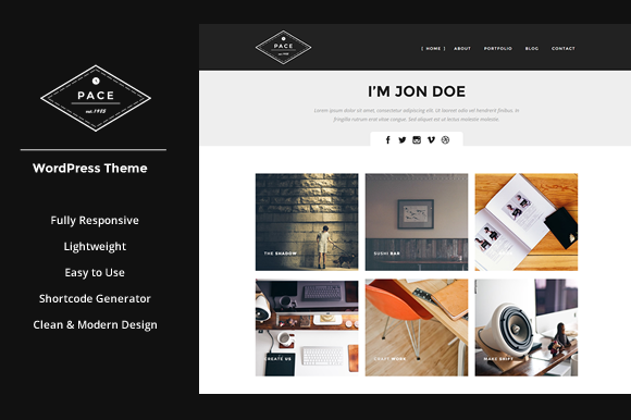 PACE Responsive WordPress Theme