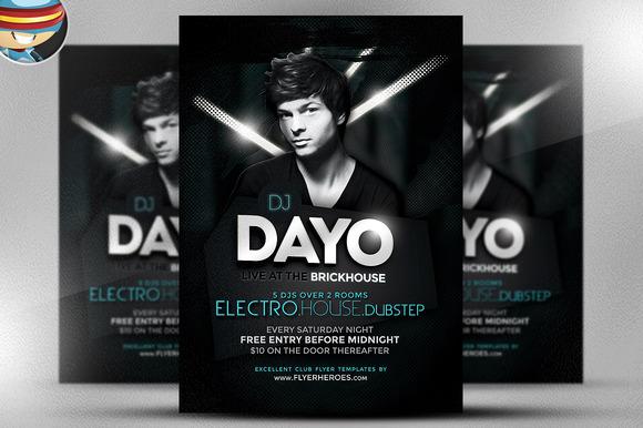 Dayo DJ Flyer Template