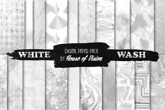White Wash Textured Paper Pack
