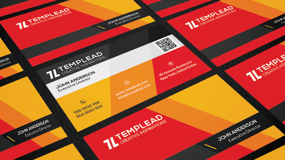 20 Modern Business Card Bundle