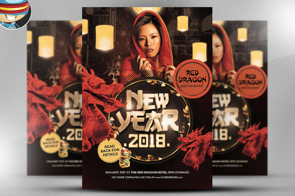 Chinese Lunar New Year Template