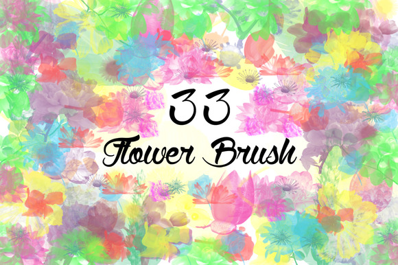 33 Flower Brushes
