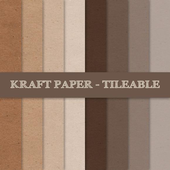 Kraft Paper Texture Tileable