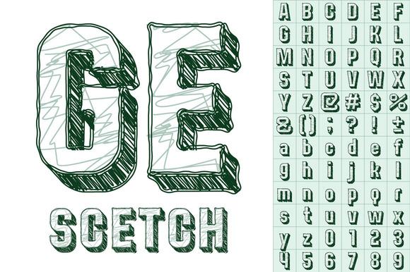Sketch Alphabe