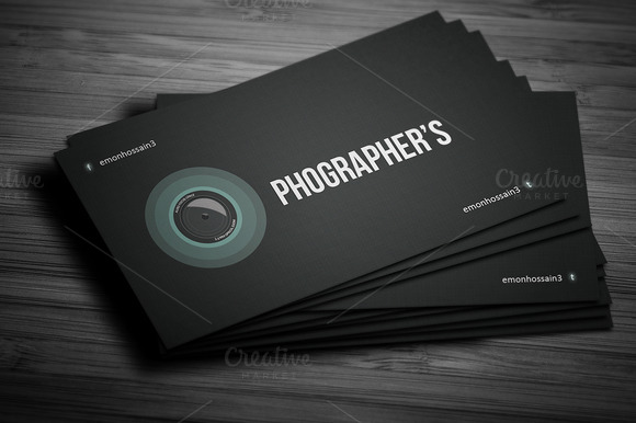 Photographer Creative Business Card
