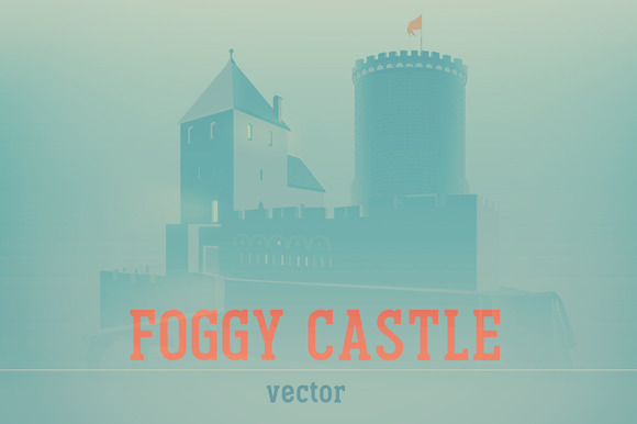 Foggy Castle
