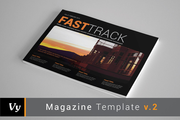 Magazine Template Vol 02