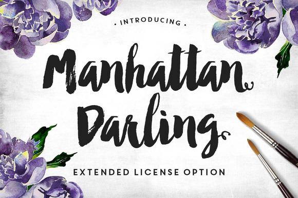 Manhattan Darling Extended License