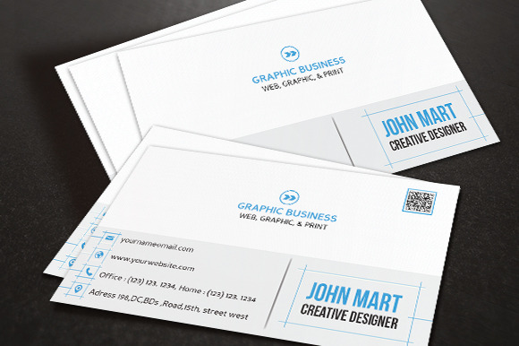 Creative Business Card V.08