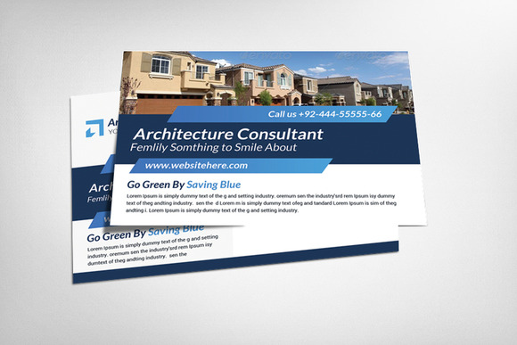 Architecture Postcard Template