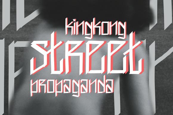 King Kong Street Propaganda Font