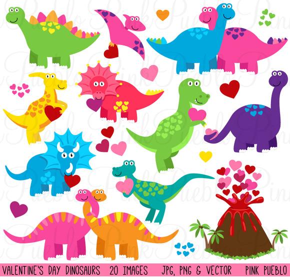 Valentine S Day Dinosaurs