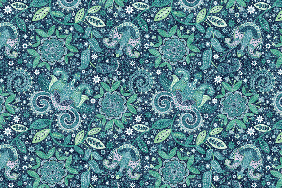 Seamless Pattern Jeans Texture