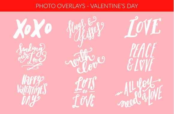 Photo Overlays Valentine S Day