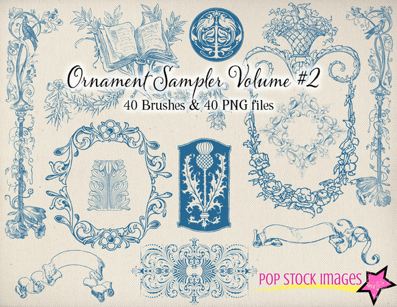 Decorative Ornament Sampler Vol 2