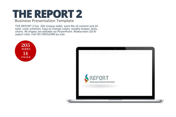 The Report 2 Presentation Template