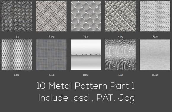 10 Metal Pattern Part 1