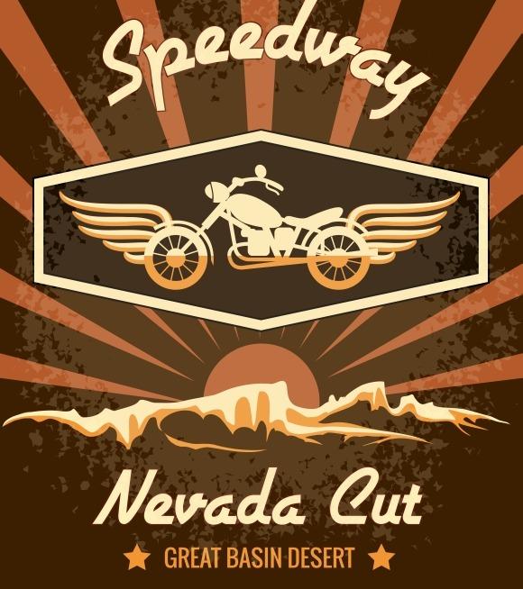 Retro Speedway Nevada Cut